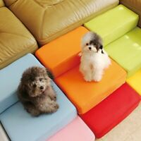 2 Steps Stairs Folding Pet Doggy Dog Cat Animal Ramp Soft Ladder Mesh Cover Mat