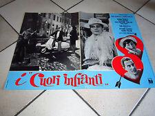 FOTOBUSTA 1963  VESPA MOTO LAMBRETTA Innocenti I CUORI INFRANTI-MANFREDI-VALERI