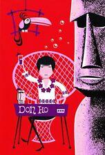 "SHAG Josh Agle ""Don Ho"" Serigraph Art Print Unframed Mint Tiki #43/149 Hawaii"