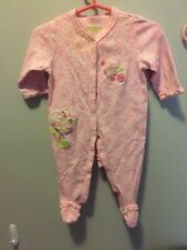 Not Neutral baby girl 3-6 Month Footed Pajamas