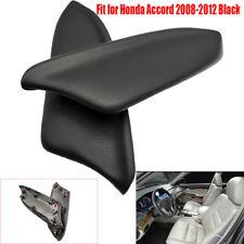 Fit for Honda Accord 2008-2012 Black Sedan LR Door Panel Armrest PU Leather US