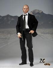 1/6 Scale ZCToys Male Figure Model Colletible Jason Statham Doll Model Set