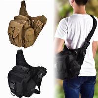 Men Shoulder Bag Messenger Bags Chest Pack Outdoor Hiking Military Tactical Bag