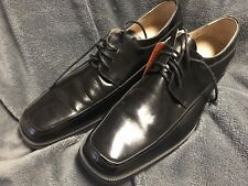 New Florsheim Cortland Black Men Leather Dress Shoes Size 14 D Bio Comfort