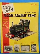 Model Railway News 1964 April MRN Album LCDR STeam Roster Cardiff Ry masonary un