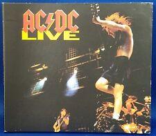 AC/DC Live Digipak CD 2003 EPIC Records Excellent Condition