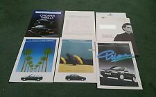 1994 RENAULT 19 UK 7 PART BROCHURE 16 VALVE AZUR CABRIOLET PRIMA BIARRITZ Sealed