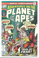 Adventures on the Planet of the Apes # 4 Marvel Comics 1976 George Tuska art
