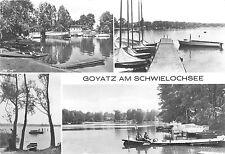 BG16498 lubben schwielochsee  goyatz  bateaux  ship germany CPSM 14.5x9cm