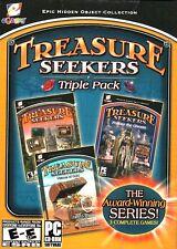 Treasure Seekers Triple Pack PC Games Windows 10 8 7 XP Computer seek find