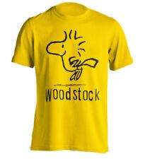Snoopy Woodstock  Funny Men T-shirt -Joke Present