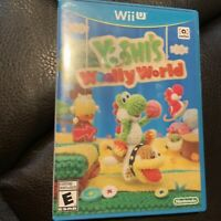 Yoshi's Woolly World (Wii U, 2015) Complete Tested Fast Shipping