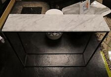 Mahaut Marble and Metal Console no3