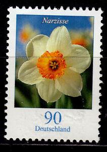 Bund 2506 R **, Rollenmarke mit Nr., 90 C. Freimarke Blumen