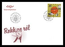 Iceland 2006 FDC, 50 Years of Rock'n Roll Music, Lot # 3.