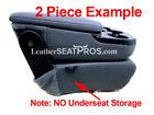 Leather Seat Covers 2019 2020 2021 Dodge Ram Crew Cab 2500 Dj D2 Black Gray Perf