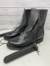 Vintage 1991 Biltrite Combat Boots Military Issue Steel Toe Size 7E Hipster-New!