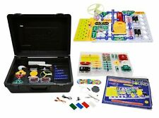 ELENCO SCC-350 Snap Circuits Deluxe:Light & Sound Combo Kit Ages 8+