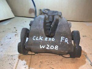 A209 1997-2010 Rear Left Brake Caliper 278mm Discs C209 Mercedes CLK C208