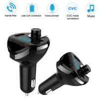 Wireless Bluetooth Auto MP3 Player FM Transmitter Radio LCD Dual USB Ladegerät