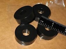 """4 VIBRATION ISOLATION RING FEET 1.5"""" 38mm DIA .5""""H PODS SORBOGEL TURNTABLE Q NS"""