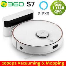 360 S7 Robotic Vacuum Cleaner Alexa Home Vacuum Mopping Carpet Pet Hair Sweeper