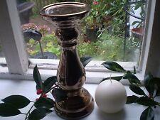 Danish Candela in ceramica color rame Stand e 100% STEARINA Danese Candela A Sfera