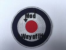 Iron On/ Sew On Embroidered Patch Badge MOD Way Of Life Target RAF Circle