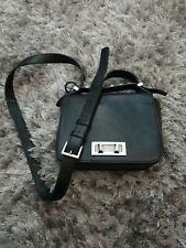 French Connection Black Leather Bag.