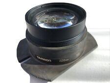 Tamron 220mm Large Format Copying Lens Lens Japan
