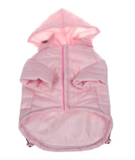 Pet Life Medium Light Pink Lightweight Adjustable Sporty Avalanche Dog Coat Med