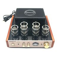 220V Nobsound MS-10D Tube Amplifier Stereo Audio HiFi Headphone amp Solid State