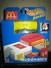"""1 RARE HTF COLLECTABLE 1996 HOT WHEELS STO & GO , MC DONALD'S """" SOLD AS IS """""""