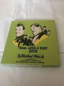 Laurel and Hardy Standard 8mm Blackhawk Films Movie Busy Bodies Vintage 1 Reel