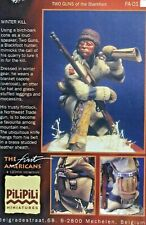 1/16 120MM RESIN FIGURE PILIPILI TWO GUNS OF THE BLACKFOOT. NEW.