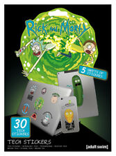 RICK AND MORTY ADVENTURES TECH STICKERS PACK (30) NEW 100% OFFICIAL MERCH