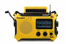 Kaito Ka500 5-way Powered Solar Power Dynamo Crank Weather Alert Radio