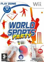 World Sports Party (Nintendo Wii Game)