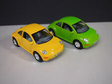 Volkswagen NEW Beetle PULL BACK AND GO YELLOW & GREEN