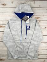 Mens Under Armour Hoodie Lightweight Storm Coldgear Pullover Grey Camo S M L XL