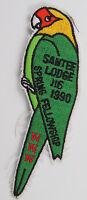 OA Lodge 116 Santee eX1990-1, Fdl; Spring Fellowship [D1748]