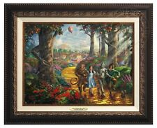 THE WIZARD OF OZ - Thomas Kinkade Canvas Classic (Aged Bronze Frame)