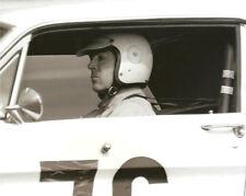 Vintage 8X10 Auto Racing Photo 1967 Daytona Ford  Mustang No. 76 McComb / Dooley