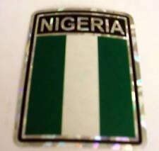 """3x4"" Nigeria Sticker / Nigeria Flag / Decal"