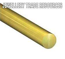 JEWELLERY MAKING ROUND 9ct YELLOW GOLD WIRE 0.5MM 10mm