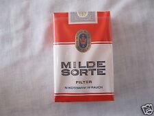 Alte Zigaretten-Schachtel Milde Sorte Filter 21 Stück-Packung Sammler 1,90 DM