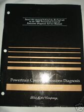 2003 Ford Bi-Fuel Powertrain Control / Emissions Diagnosis Manual OEM