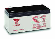 YUASA NP3.2-12 SEALED LEAD ACID BATTERY 12v 3.2Ah ALARM BATTERY TOY CAR BATTERY