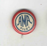 Vintage AVIATION pin AMA PILOT pinback