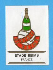 FOOTBALL CLUBS-PANINI 1975-Figurina n.118- STADE REIMS - FRANCIA-SCUDETTO-Rec